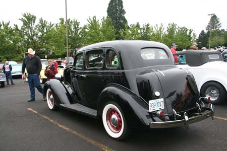 1935 plymouth for 1935 dodge 4 door sedan