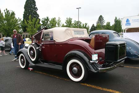 1933 Plymouth Model PD Convertible Coupe