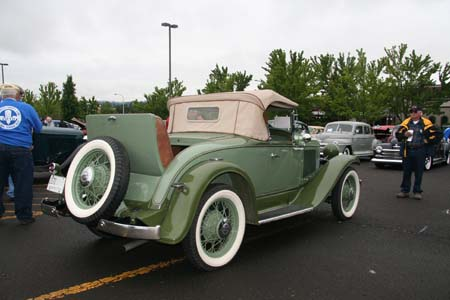 1930 Plymouth Model PD Convertible Coupe