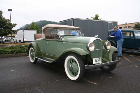 1931 Plymouth Model PD Convertible Coupe