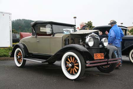 1928 Plymouth Model PD Convertible Coupe
