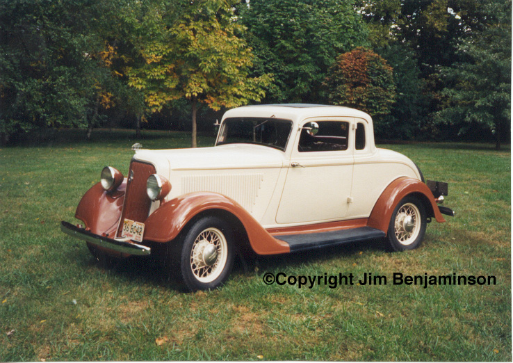 1934 Plymouth Standard Six