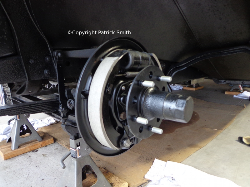 1931 Plymouth Brake Drum Replacement