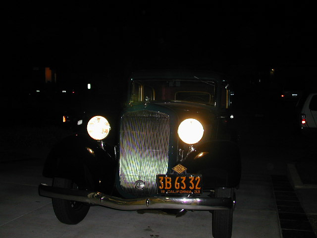 Auto Parts Interchange >> How good can those antique car headlights be?
